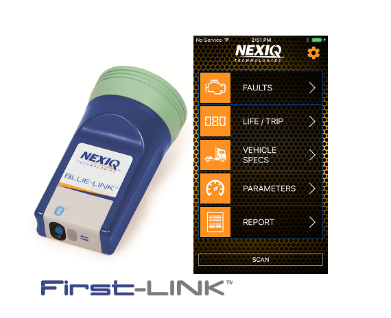 NEXIQ Blue-Link™ Mini and First-Link™ App